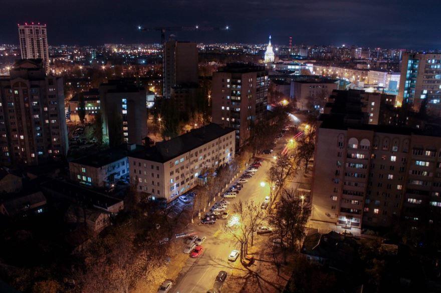 Смотреть лучшее фото города Воронеж ночной город