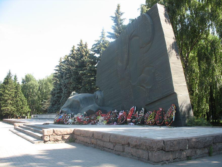 Памятник Славы город Воронеж