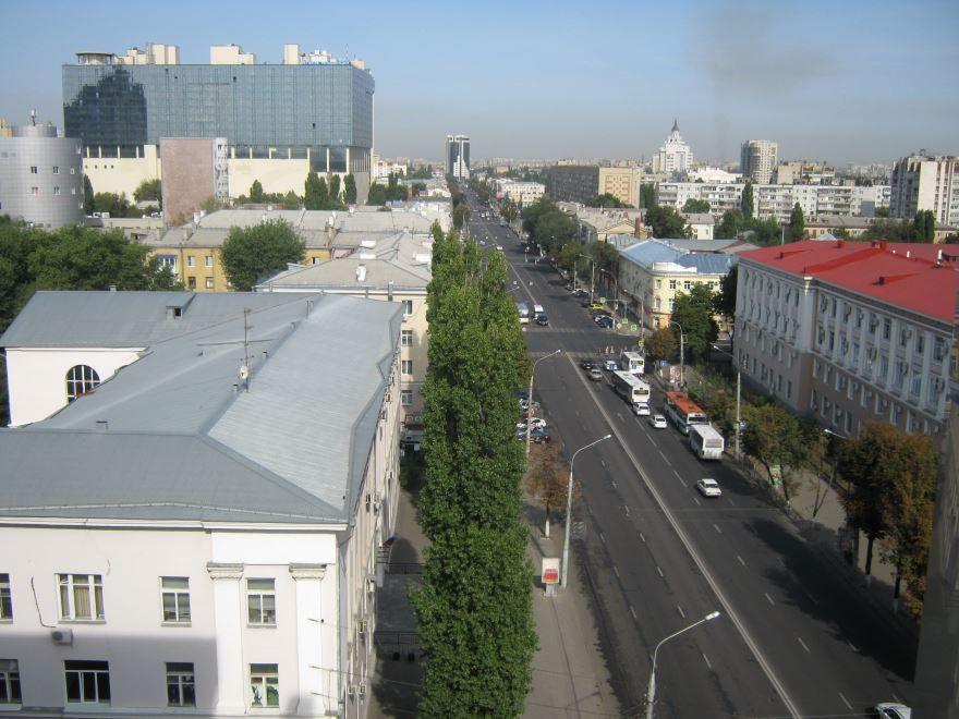 Смотреть красивое фото улица Плехановская город Воронеж в хорошем качестве