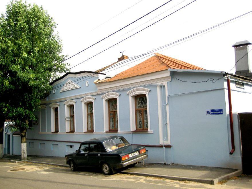 Усадьба Троицких город Воронеж