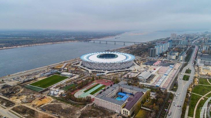Скачать онлайн бесплатно лучшее фото города Волгоград стадион Волгоград