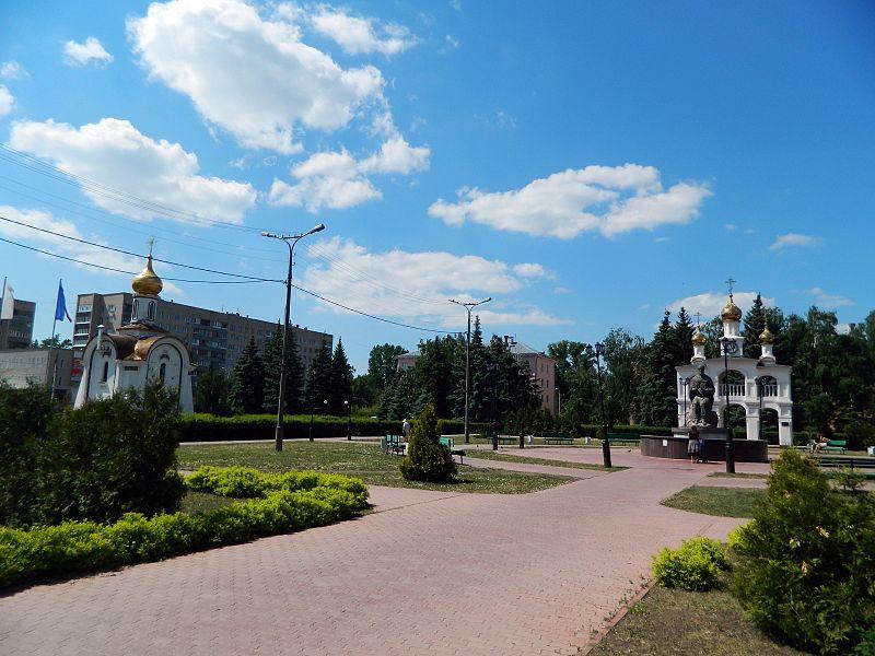 Смотреть красивое фото Центральная площадь города Тольятти 2019 в хорошем качестве
