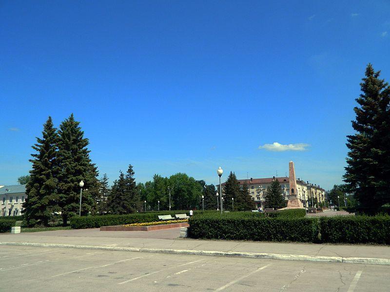 Площадь Свободы город Тольятти