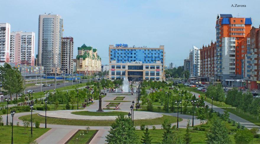 Скачать онлайн бесплатно лучшее фото города Тольятти Проспект Ермакова