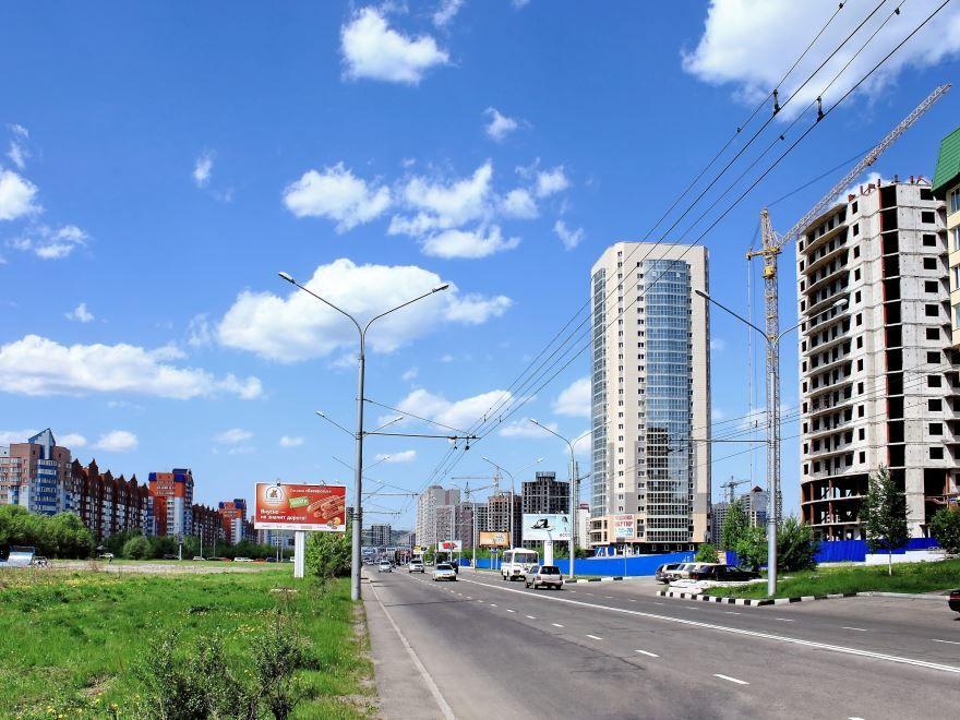 Смотреть красивое фото города Тольятти улица города
