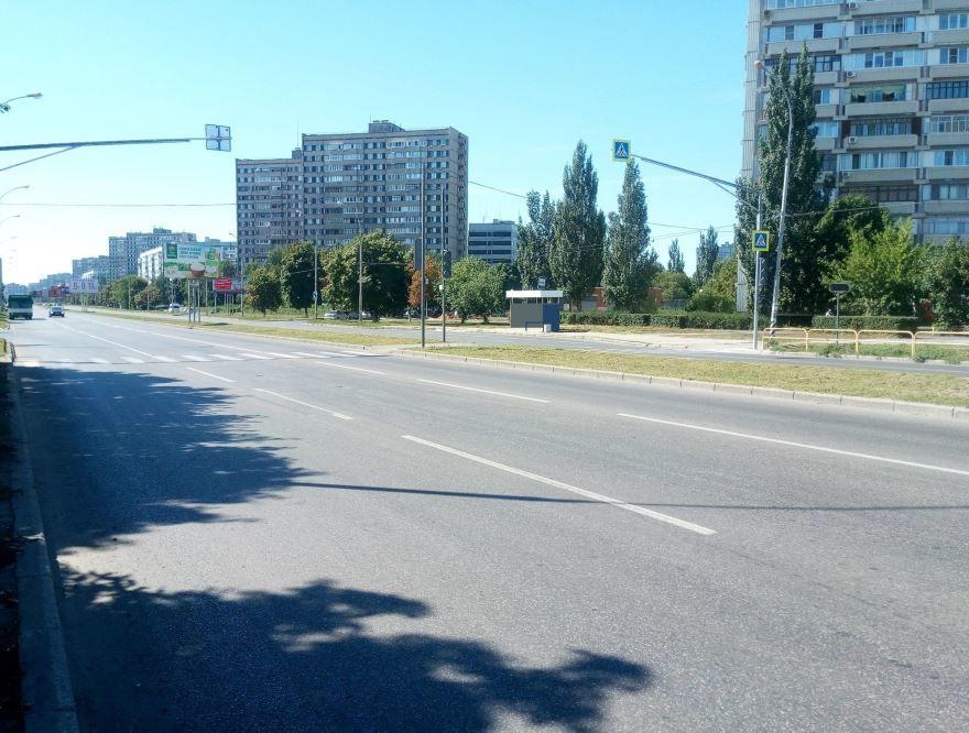 Улица сорок лет Победы город Тольятти