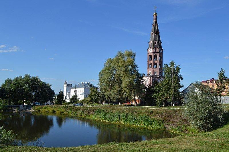 Свято Троицкий монастырь в городе Алатырь 2019