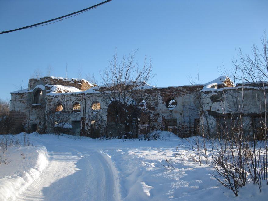 Христорождественская церковь город Аларыть
