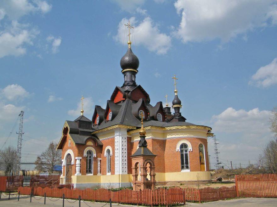 Церковь Серафима Саровского город Александров