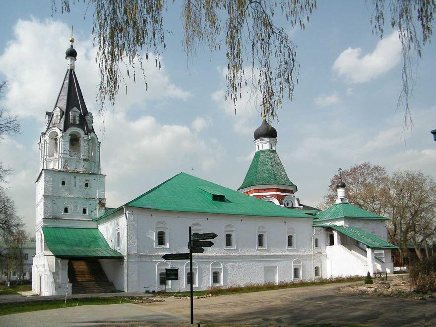 Покровская церковь город Александров