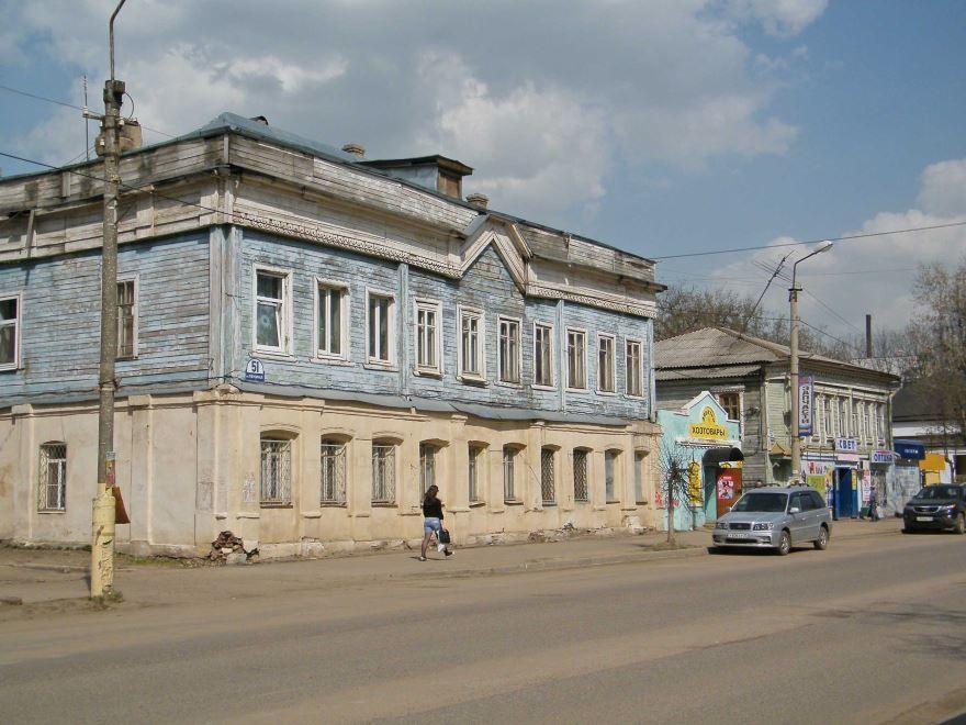 Смотреть фото города Александров 2019 старые дома