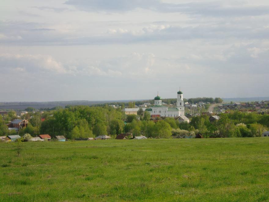 Церковь в селе Алексеевка Уфимского района