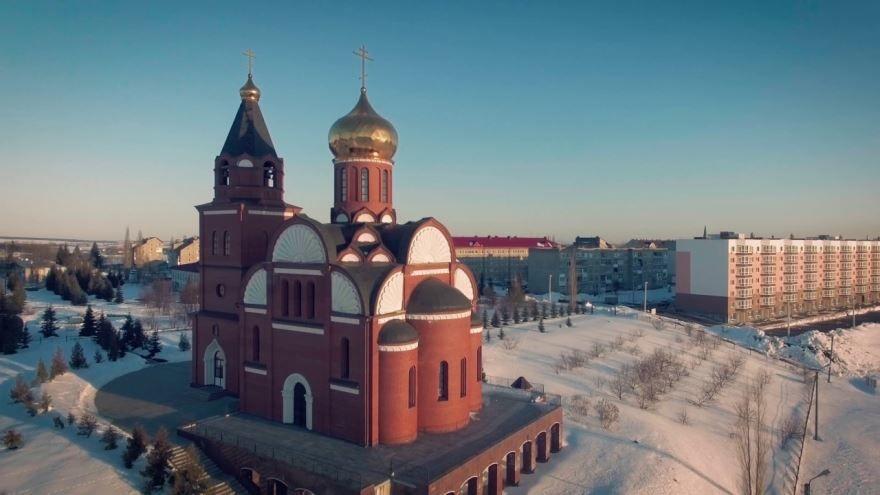 Спасский храм село Алексеевка