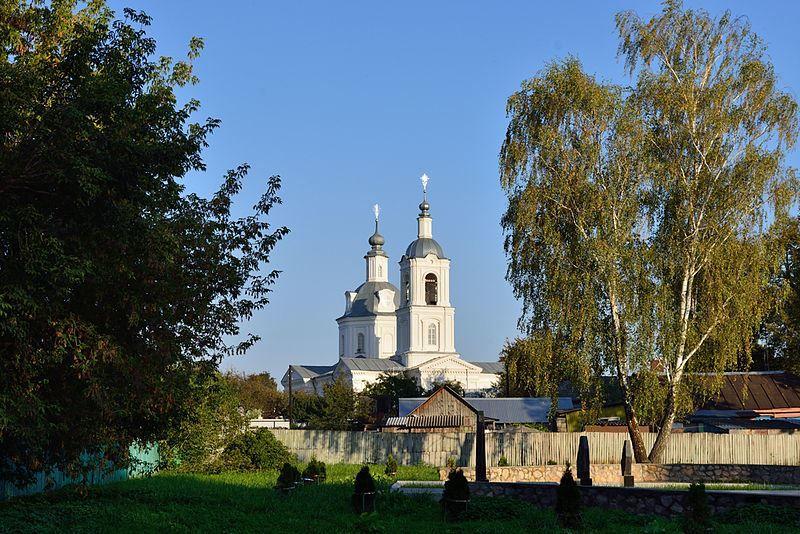 Церковь святителя Николая город Алексин Тульская область