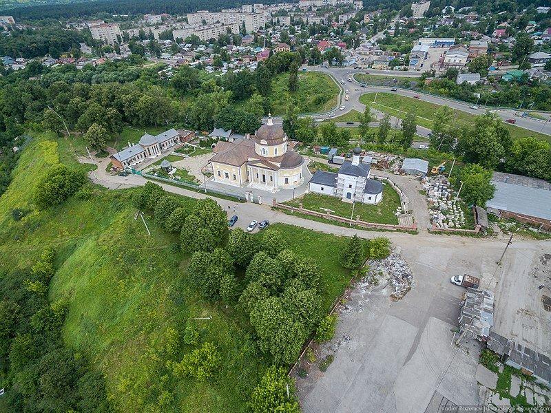 Смотреть лучшее фото города Алексин вид сверху в хорошем качестве