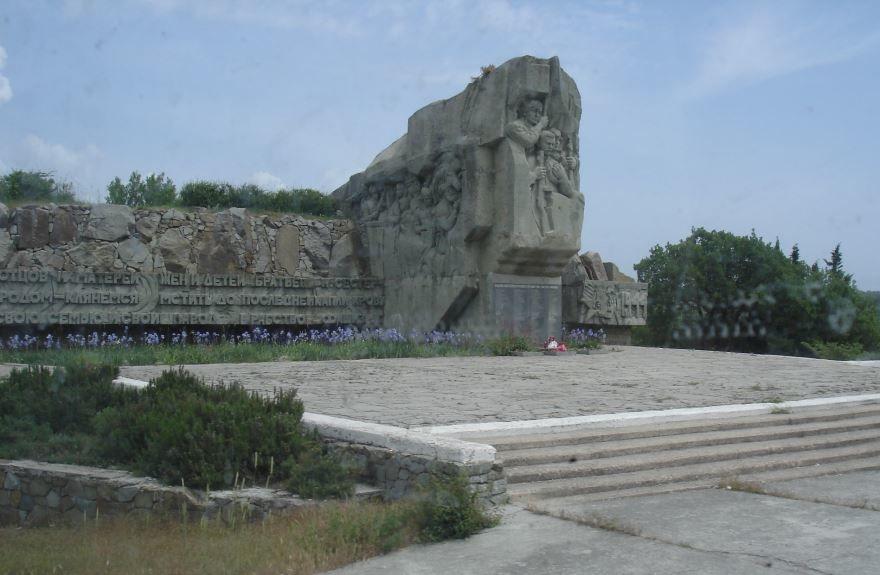 Памятник погибшим в годы Великой Отечественной войны город Алушта