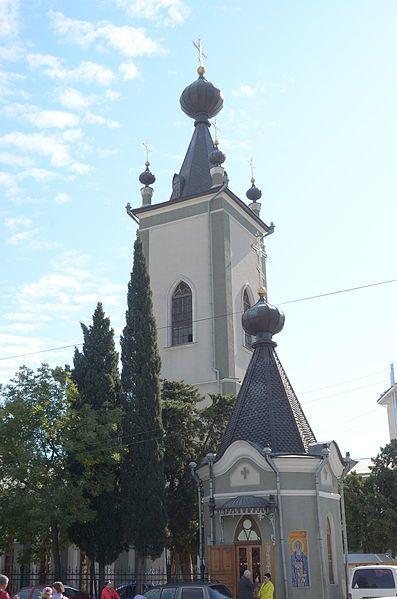 Церковь Федора Стратилата город Алушта