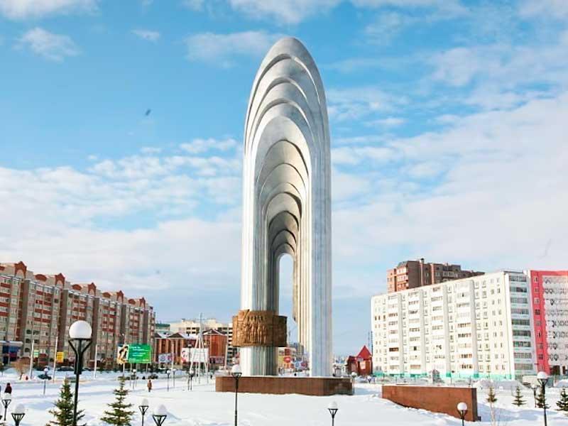 Смотреть красивые улицы города Альметьевск в хорошем качестве