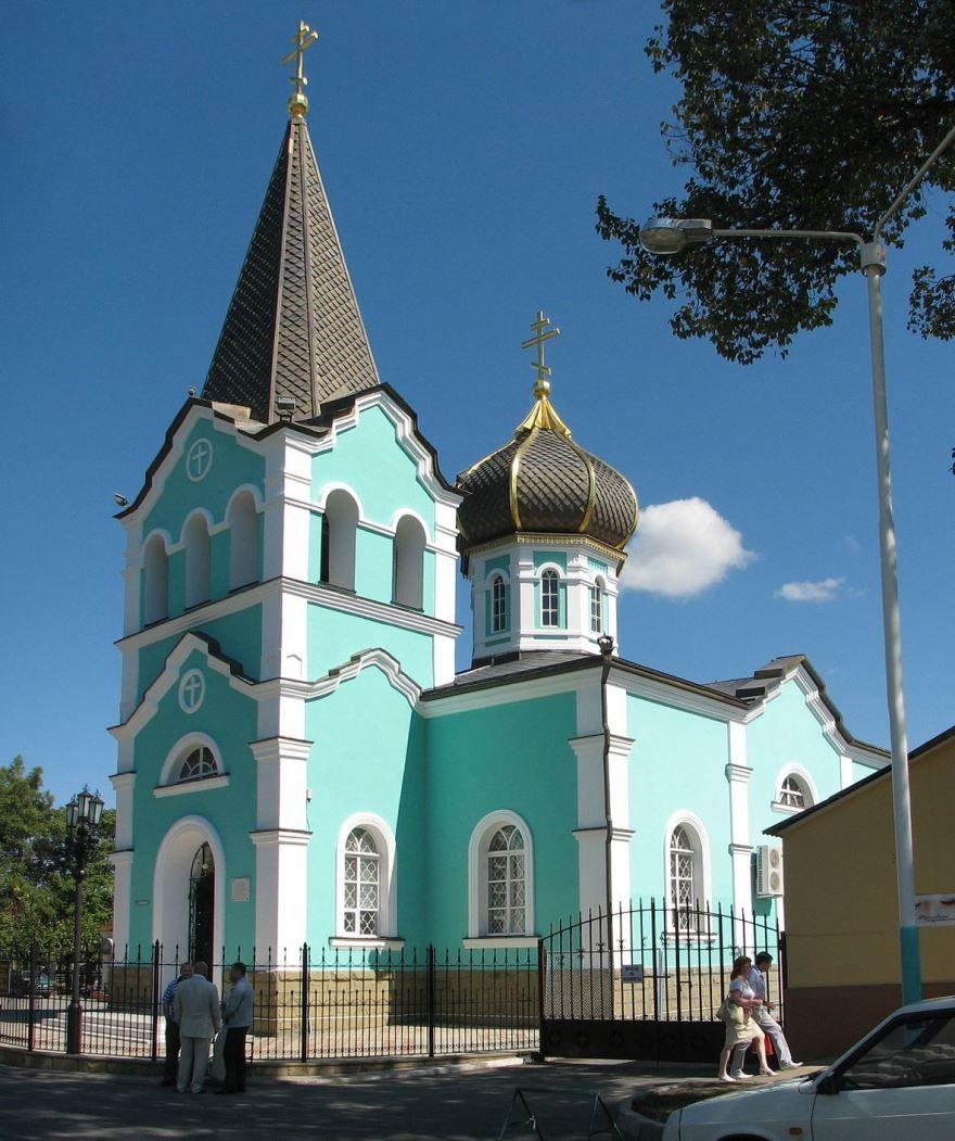 Церковь Онуфрия Великого город Анапа Краснодарский край