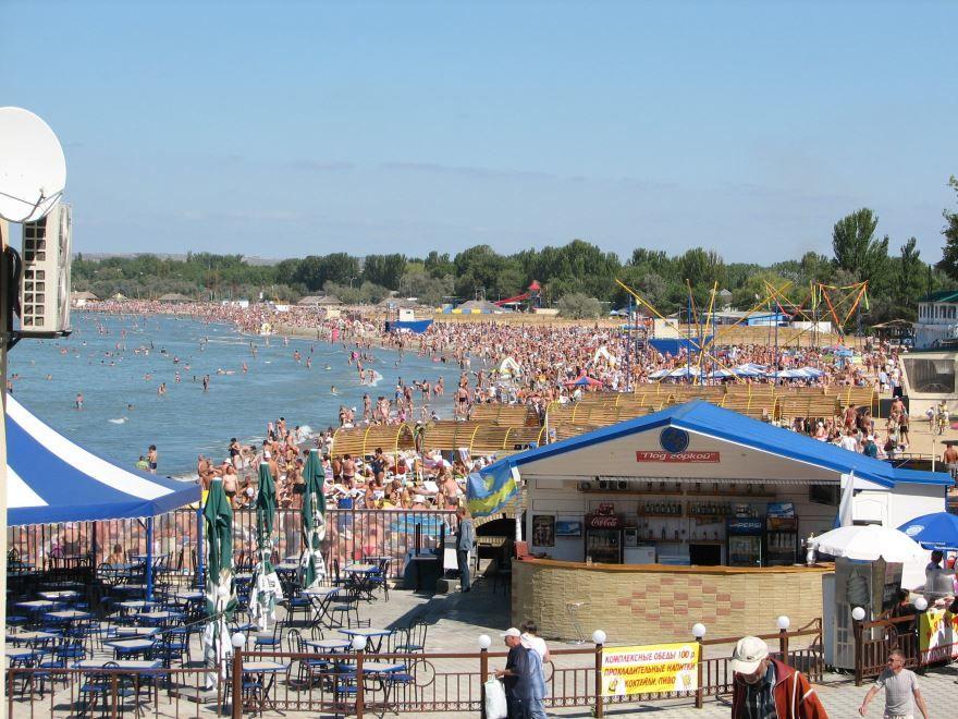 Смотреть лучшее фото города Анапа пляж и отдыхающие города