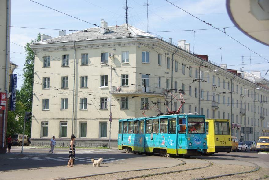 Скачать онлайн бесплатно красивое фото улицы города Ангарск в хорошем качестве