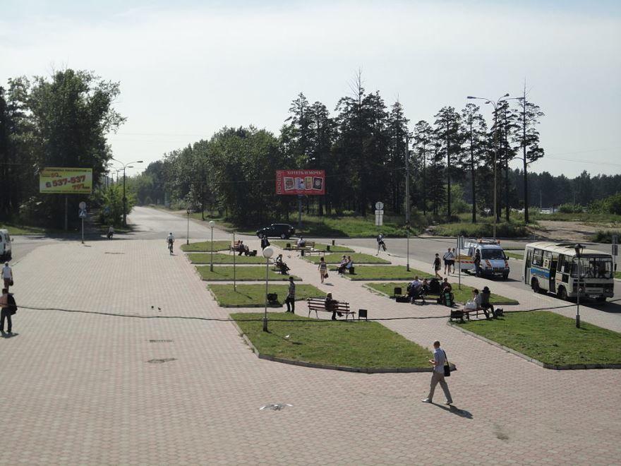 Смотреть лучшее фото города Ангарск 2019 привокзальная площадь