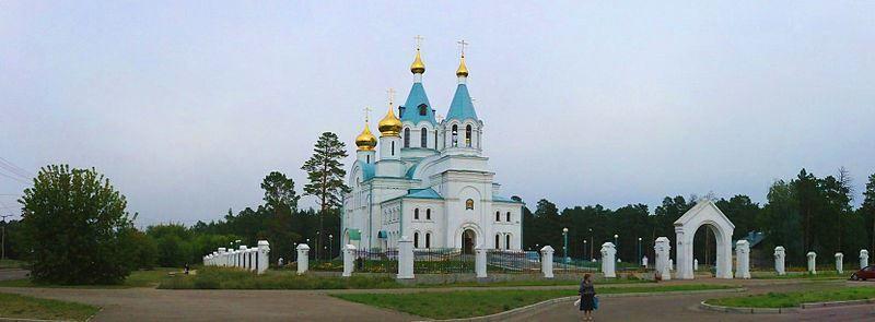 Свято Троицкий кафедральный собор город Ангарск