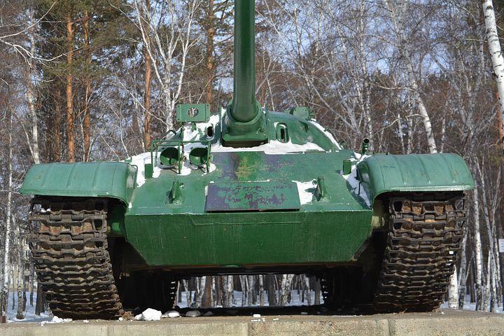 Смотреть красивое фото танк музей город Ангарск