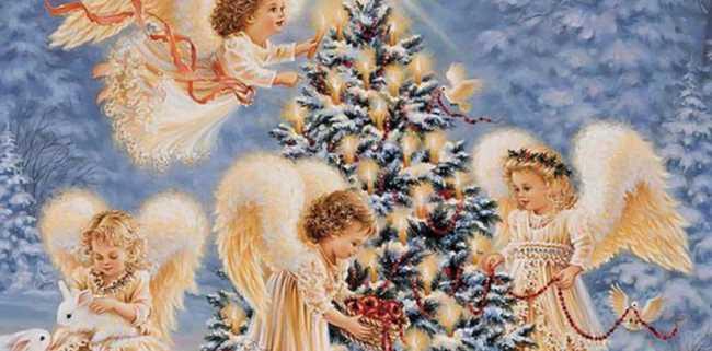 Красивая картинка на католическое Рождество
