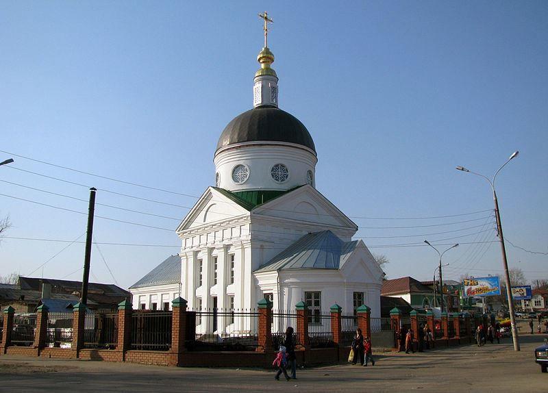 Церковь Владимирской иконы Божией Матери город Арзамас