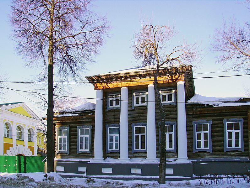 Историческая застройка на улице Ступина город Арзамас