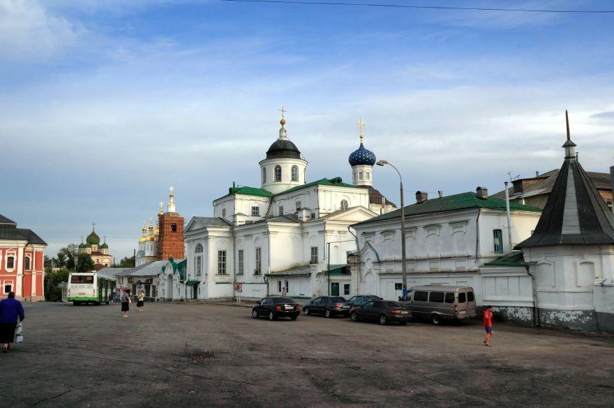 Свято Нколаевский монастырь церковь Богоявления город Арзамас
