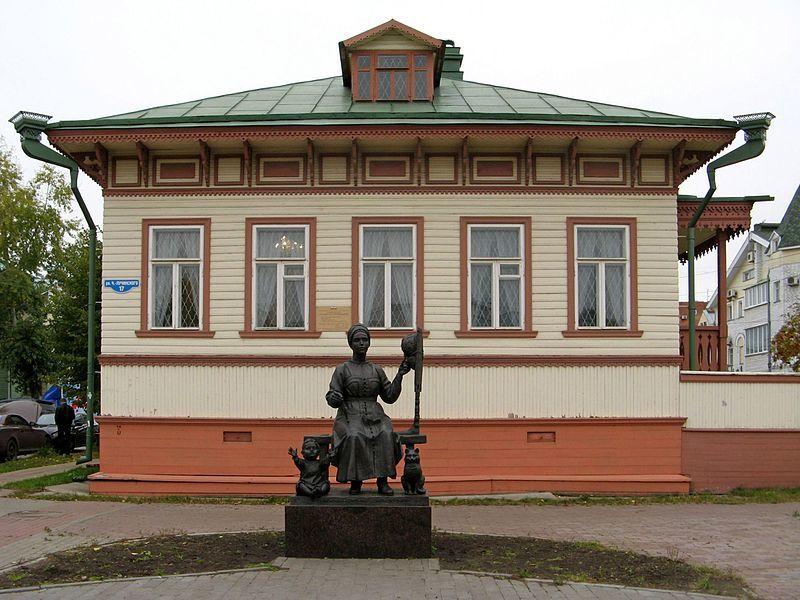 Композиция Русским женщинам берегиням семейного очага в городе Архангельск
