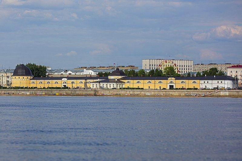 Русский Гостиный двор в городе Архангельск