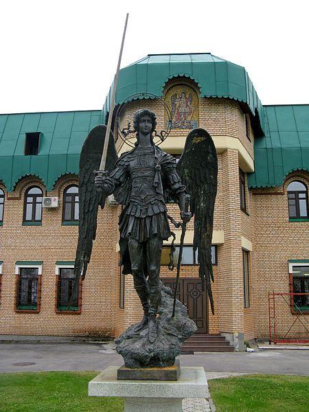 Статуя Архангела Михаила город Архангельск