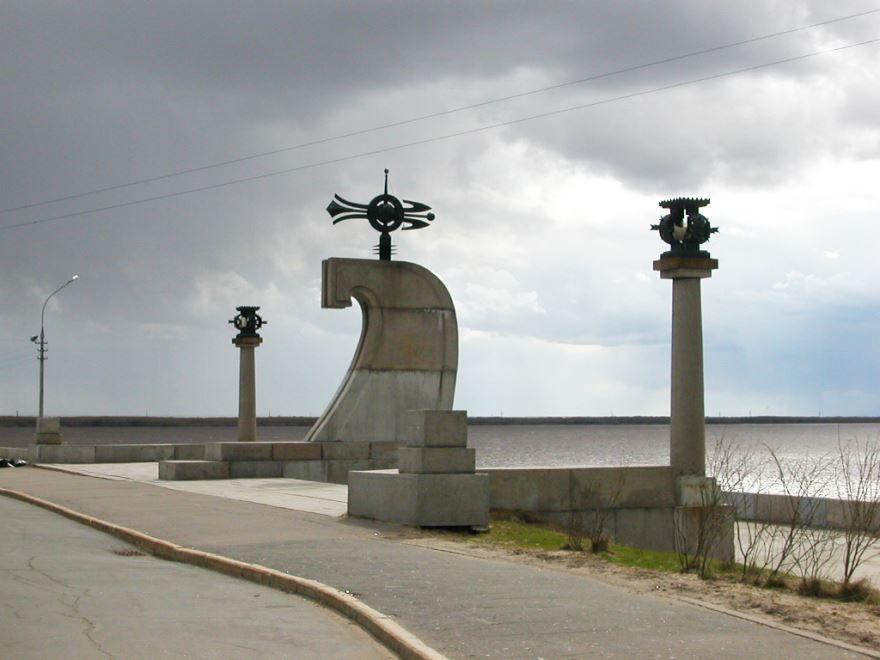 Стела города Архангельска