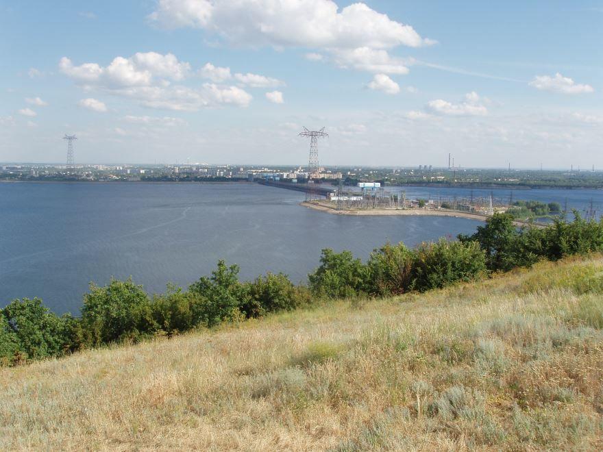 Саратовская ГЭС город Балаково
