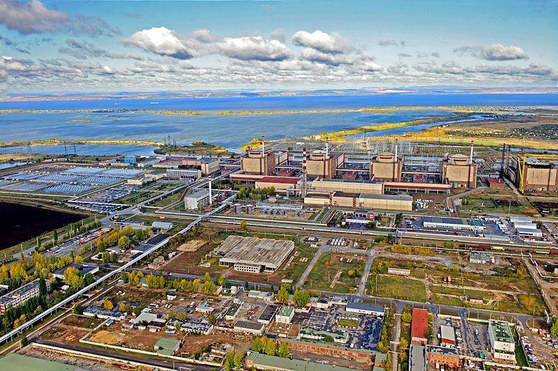 Вид сверху город Балаково