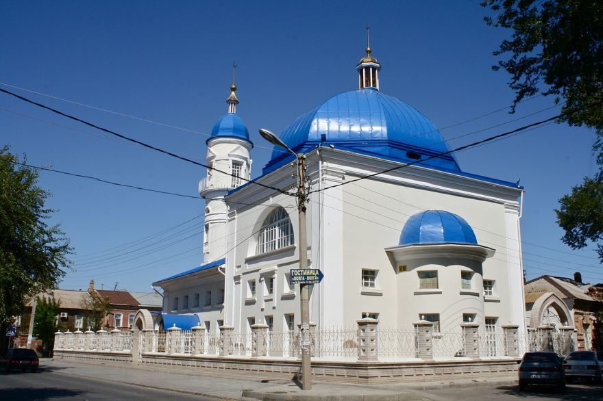 Белая Мечеть город Астрахань 2018