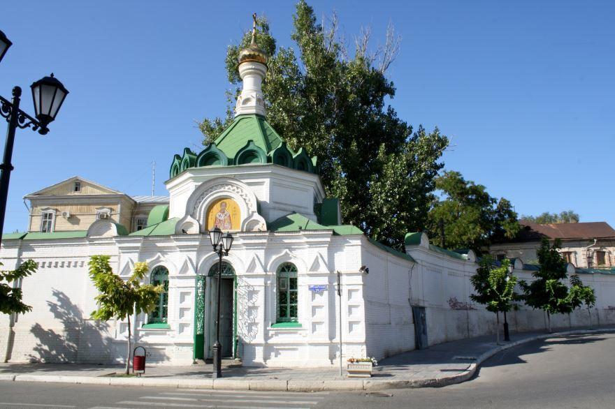 Благовещенский Новодевичий монастырь город Астрахань