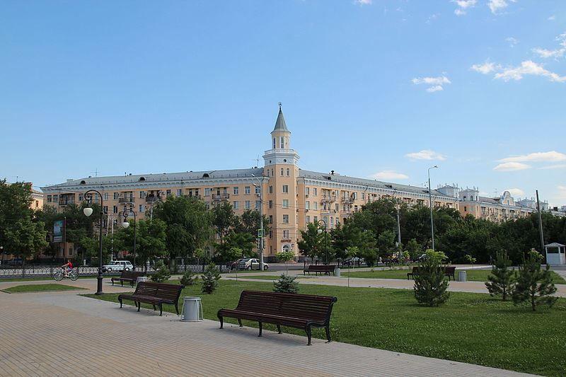 Смотреть красивое фото города Астрахань площадь Ленина
