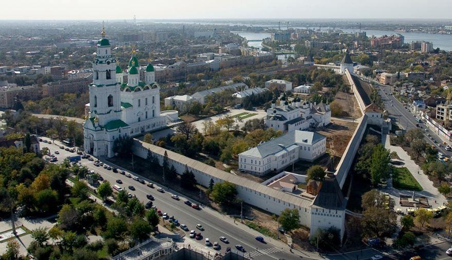 Кремль города Астрахань