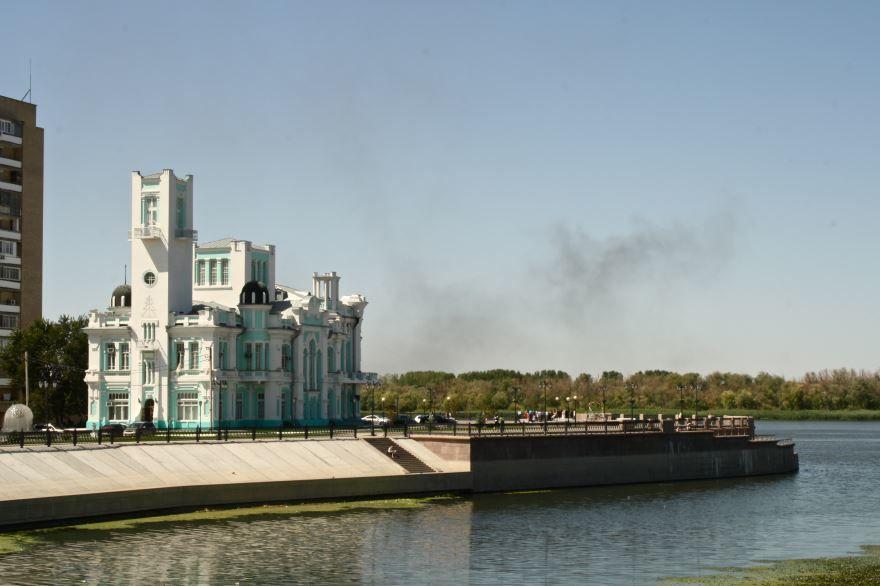 Здание Астраханского Биржевого ведомства город Астрахань