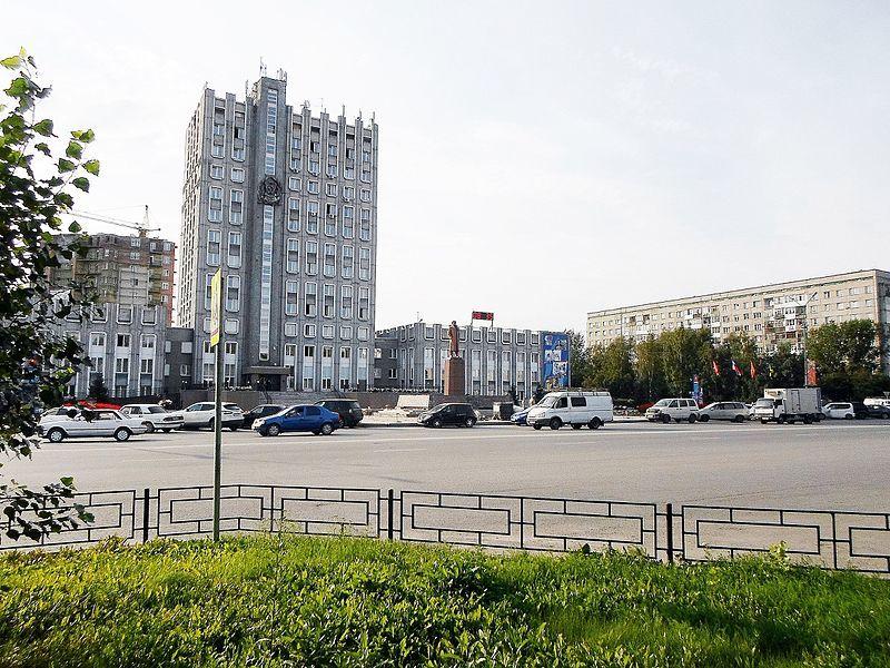 Смотреть лучшее фото города Ачинск здание администрации города
