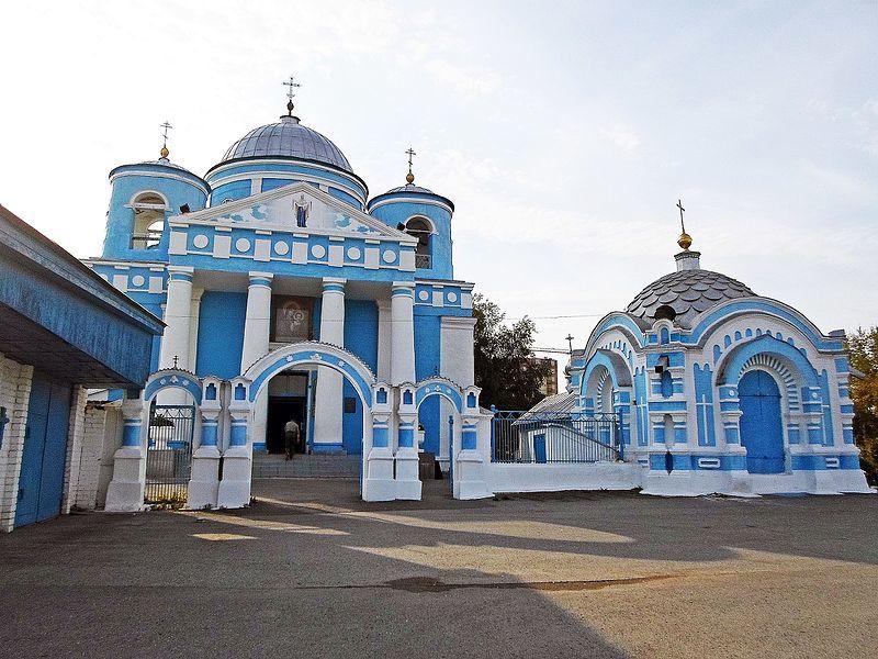 Казанский собор в городе Ачинск