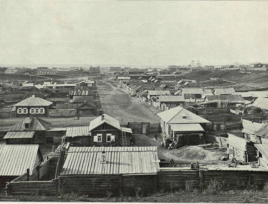 Смотреть лучшее старинное фото города Ачинск в хорошем качестве