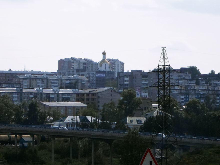 Смотреть красивое фото вид на город Ачинск Красноярский край