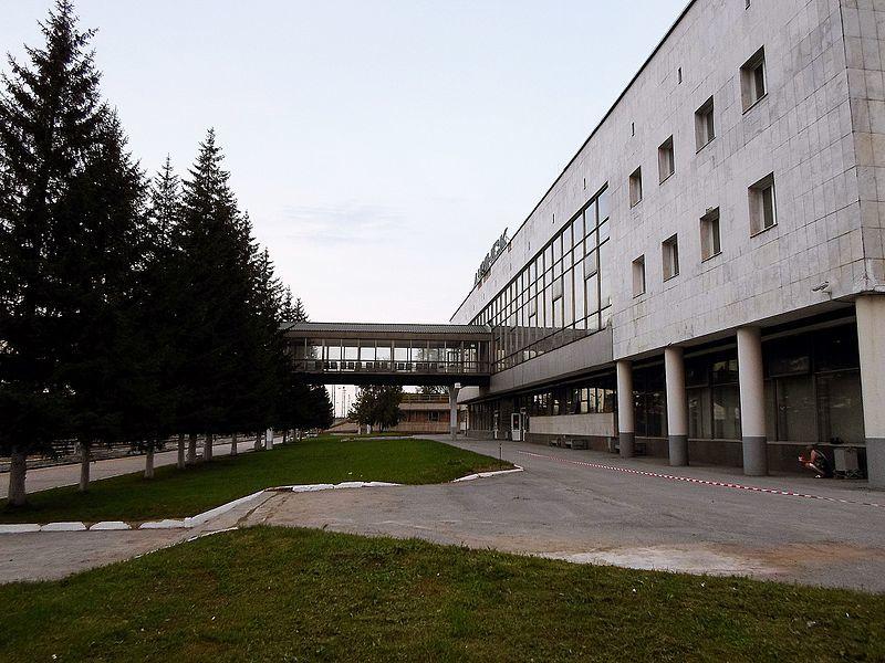 Железнодорожный вокзал город Ачинск 2019
