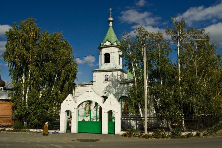 Никольская церковь город Абакан