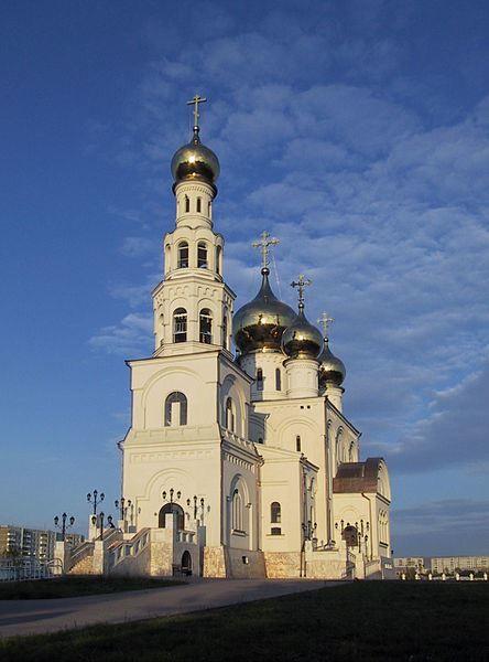 Спасо-Преображенский Кафедральный собор город Абакан